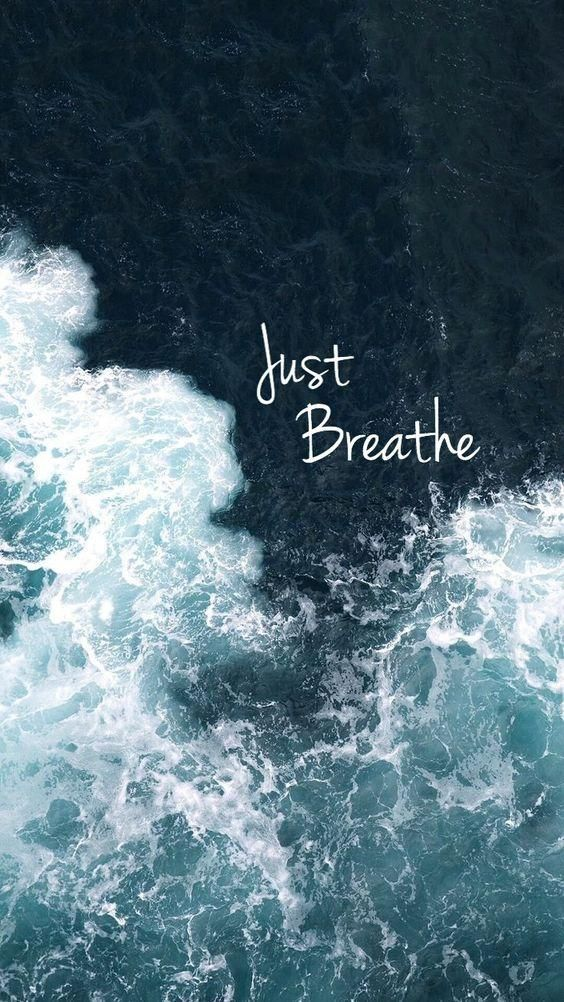 Just Breathe Wallpaper Breathe Quotes Wallpaper Quotes Inspirational Quotes Iphone xs max wallpaper quotes