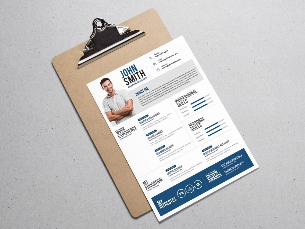 Free Creative Resume Template for Designer Free Resume Templates
