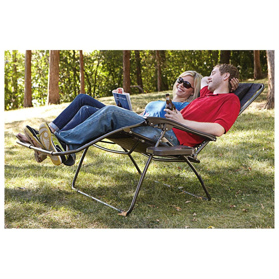 Amazing Bliss Hammocks® 2 Person Gravity Free Recliner   578462, Chairs At  Sportsmanu0027s