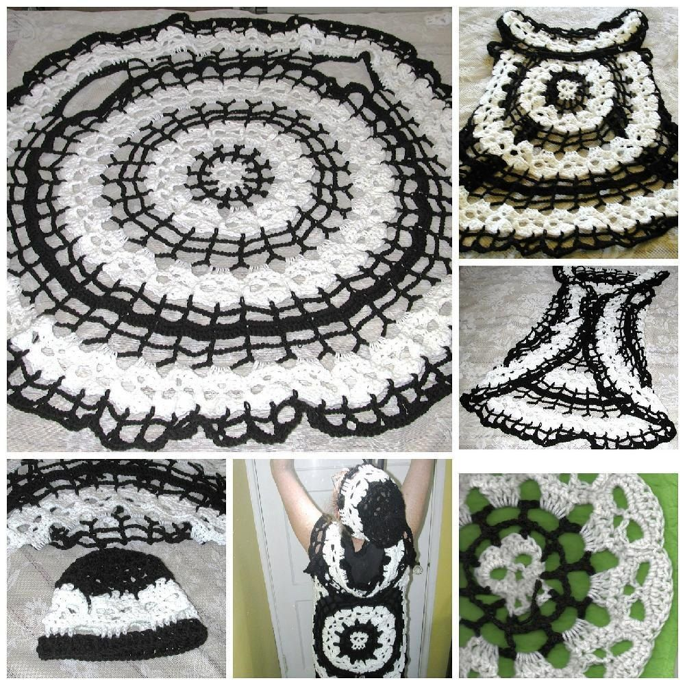Bone danceretro style circle vestthis pattern is a collaboration bone dance creepy skull circle vest crochet pattern by spider mambo bankloansurffo Choice Image