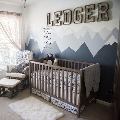 Blue Mountains Crib Comforter