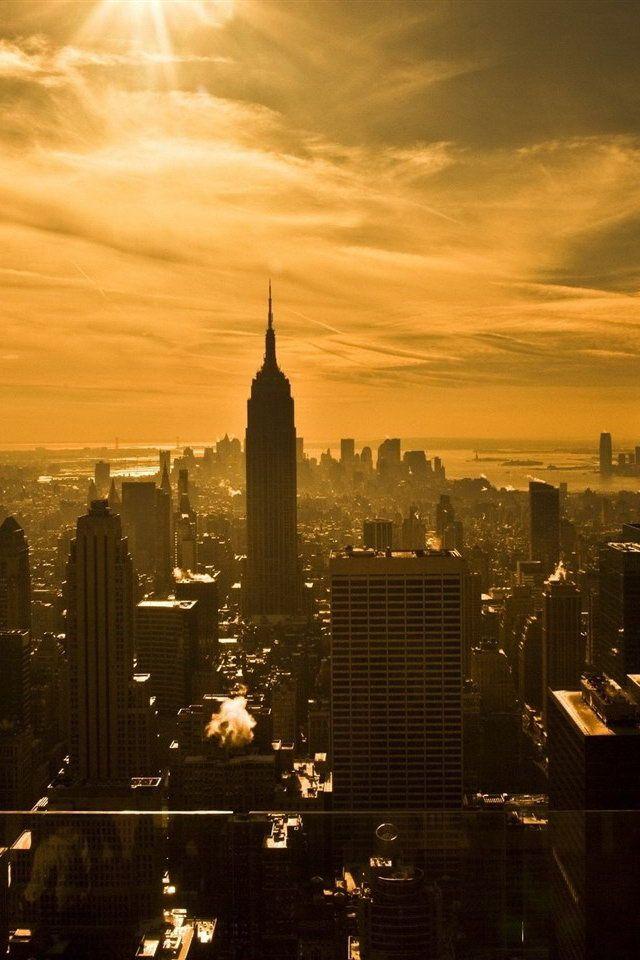 Beautiful city architectural landscape iPhone wallpaper 640x960 (05).jpg (640×960)