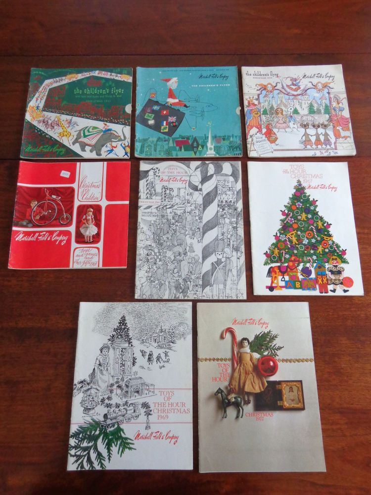 8 marshall fields christmas toy catalogs 1952 72 just toys free shipping