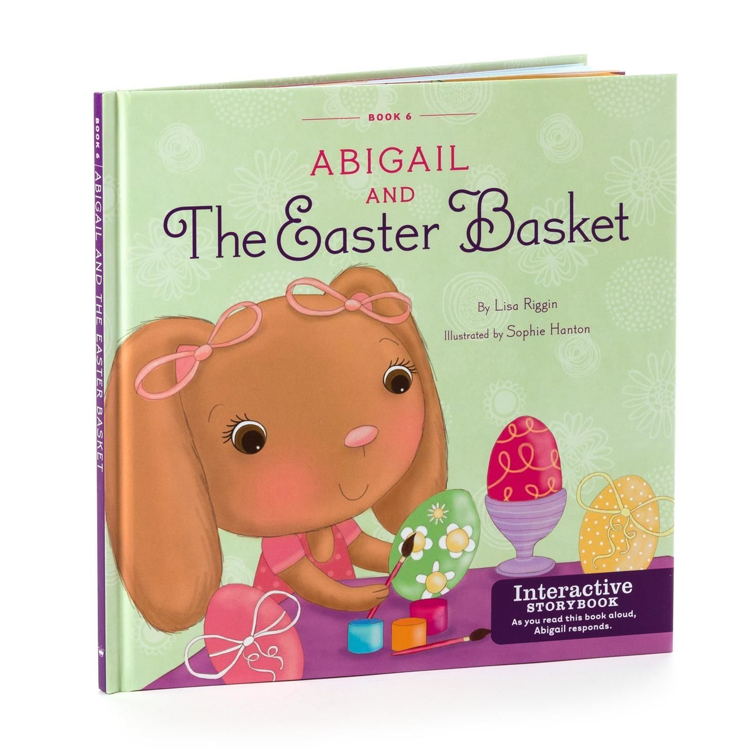 Abigail and the easter basket interactive story buddy book the hallmark interactive story buddy plush when you read her books to her she responds abigail and the easter basket interactive story buddy book negle Image collections