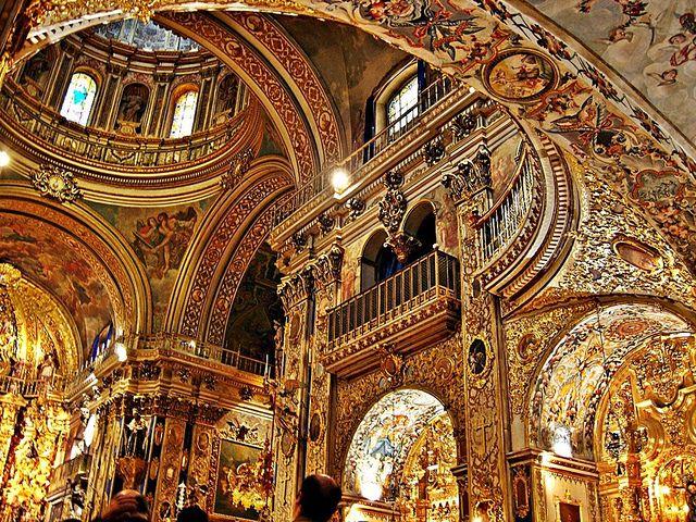 baroque interior google search the basilica of san juan
