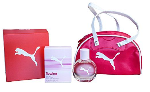 chasquido Justicia Quedar asombrado  Puma Flowing Bag & Perfume Gift Set for Women: 40ml EDT + Handbag. UK  perfume. Women perfume. It's an Amazon affilia… | Perfume gift sets, Gift  sets for women, Bags