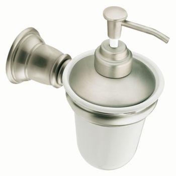 Moen Yb5466bn Creative Specialties Kingsley Wall Mounted Liquid Soap