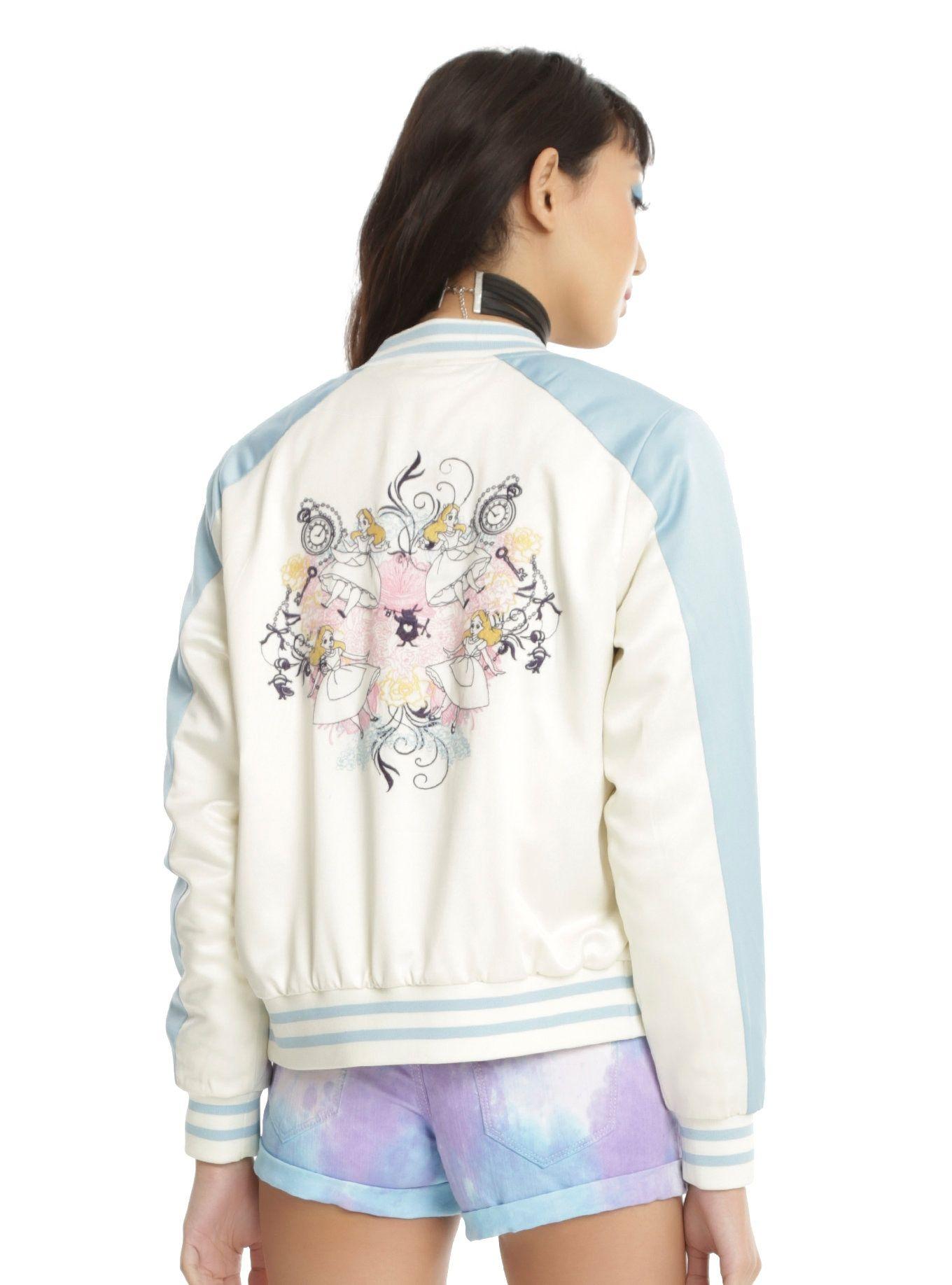 Disney Girls Alice in Wonderland Flowers Sweatshirt
