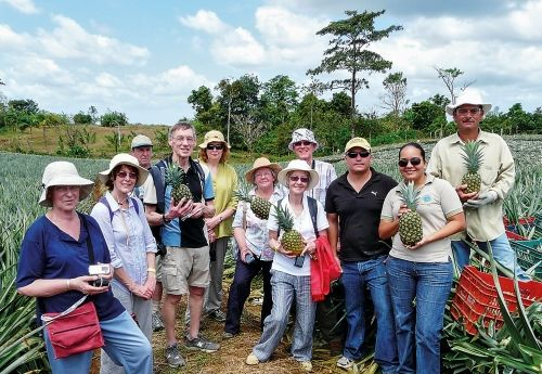 Visiting Fairtrade sugar producers on a Traidcraft Meet the People Tour to Costa Rica & Nicaragua