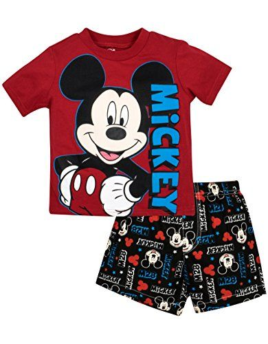 b755d0bd Infant and Toddler Boys Mickey Mouse Short Sets 12 Months Red >>> Be sure to  check out this awesome product.