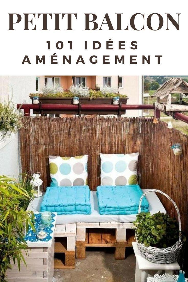 Aménager Son Balcon Avec Des Palettes 101 idées déco & aménagement pour un petit balcon | déco