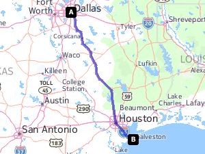 How Many Miles Is It From Dallas Texas To Galveston Tx Galveston Jamaica Beach Texas Dallas Texas
