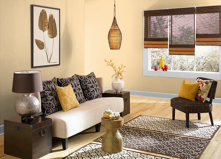 Behr - Corn Silk | Design Ideas - Living Room | Pinterest | Behr