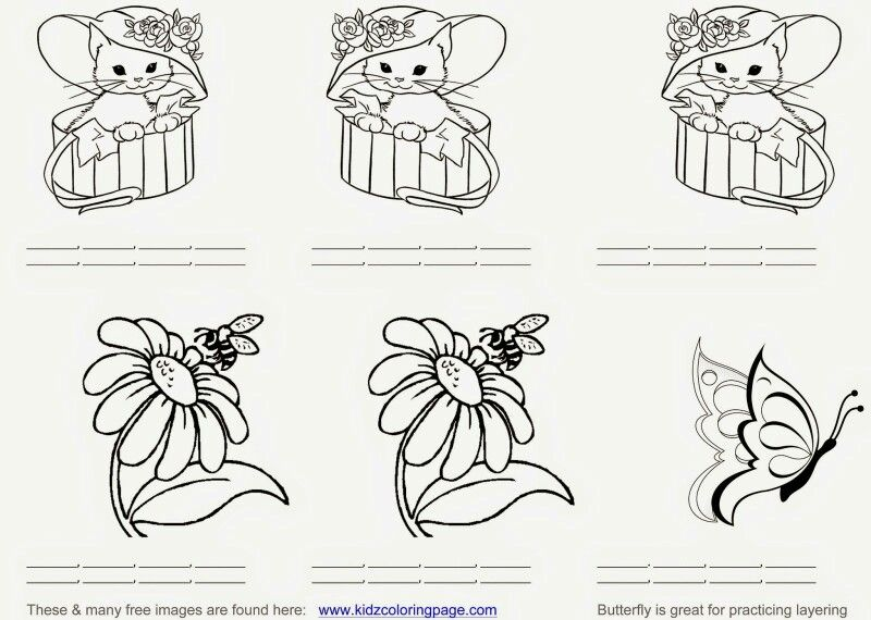 - Practice Sheets Copic, Copic Coloring, Spectrum Noir Markers