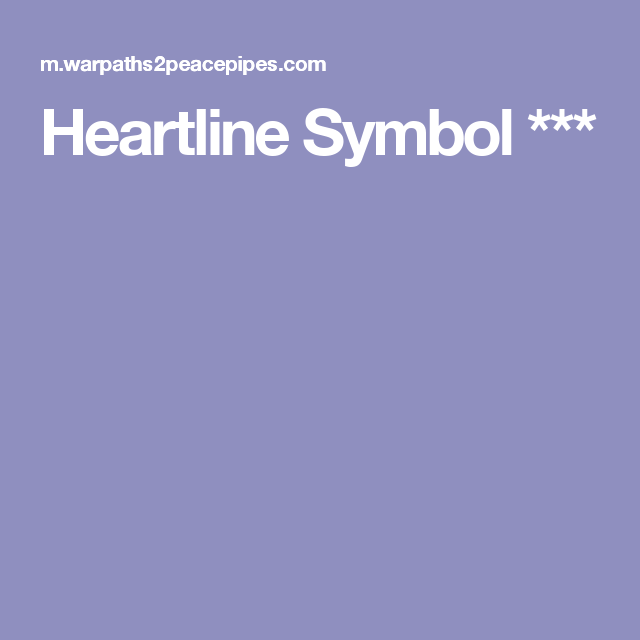 Heartline Symbol Tattoos Pinterest Symbols Indian Symbols