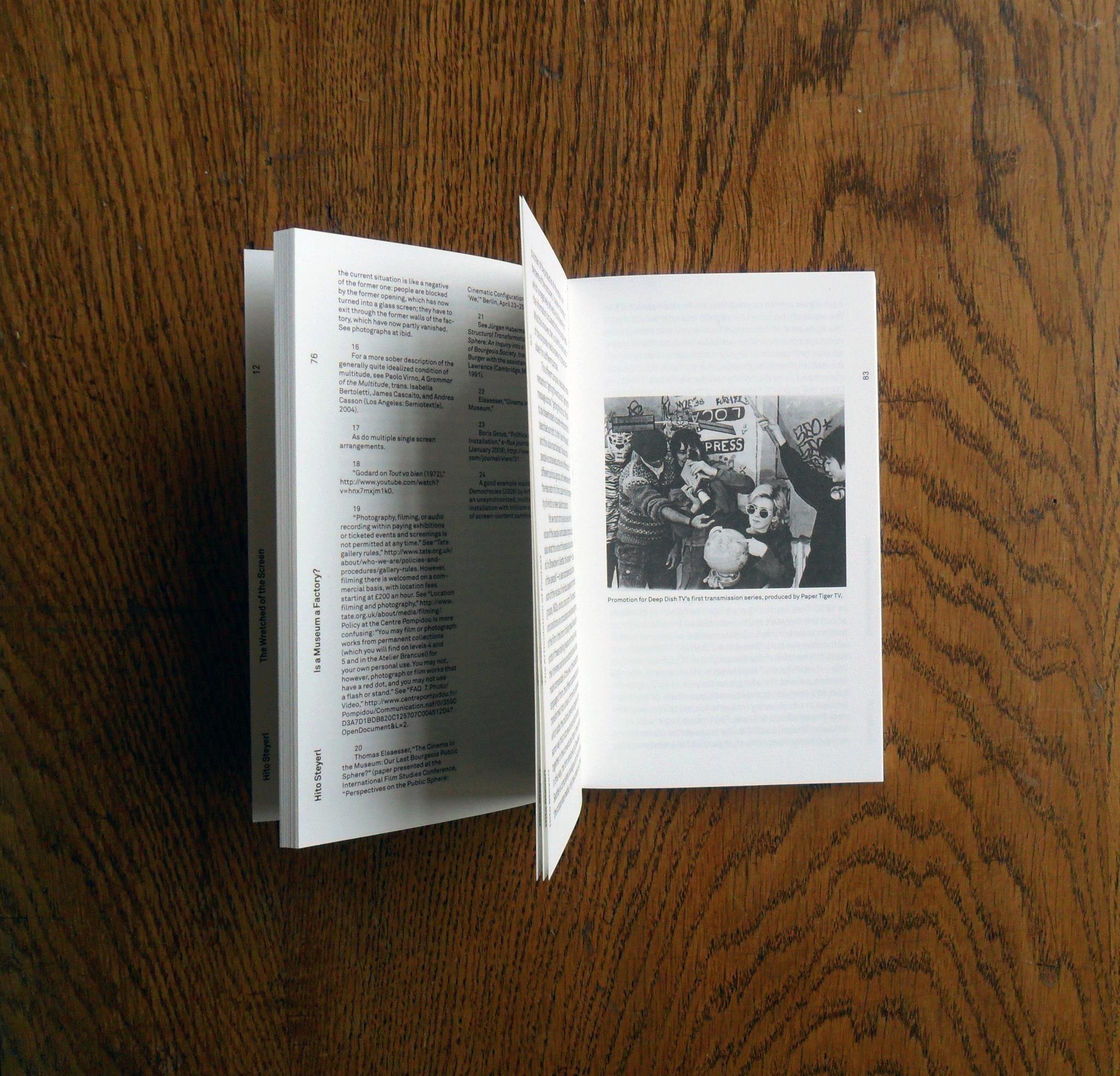 Wretched Screen, Sternberg Polaroid film, Film, Screen