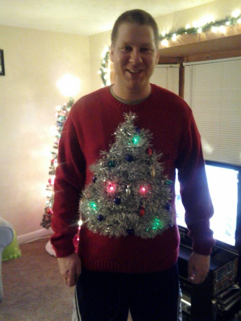 Christmas Tree Ugly Sweater Diy.Pin On Fun For X Mas
