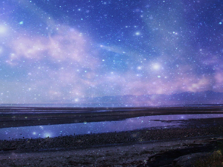 Pin By Olivia On C E L E S T I A L Oil Painting Landscape Ocean Painting Night Sky Photos
