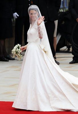 Wedding day of Prince William and Kate Middleton, 2011
