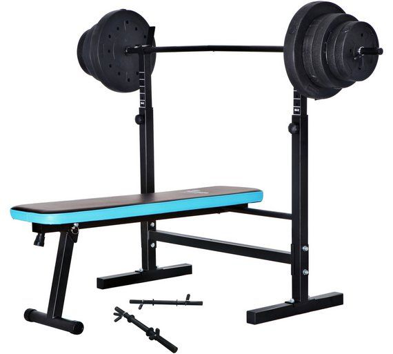 Buy Men S Health Folding Bench With 50kg Weights At Argos Co Uk Visit Argos Co Uk To Shop Online For Weightlifting An Weight Benches Mens Health Folding Bench