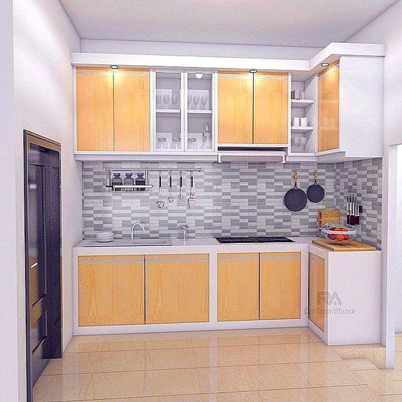 Kitchen Set Minimalis Terbaru Desain Interior Modern Ide Dapur Aksesori Rumah