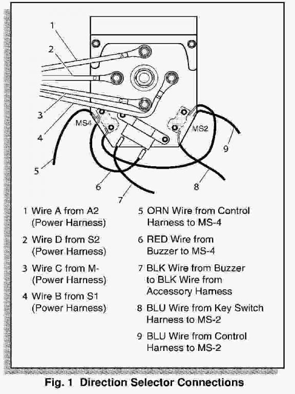 Ezgo Forward Reverse Switch Diagram