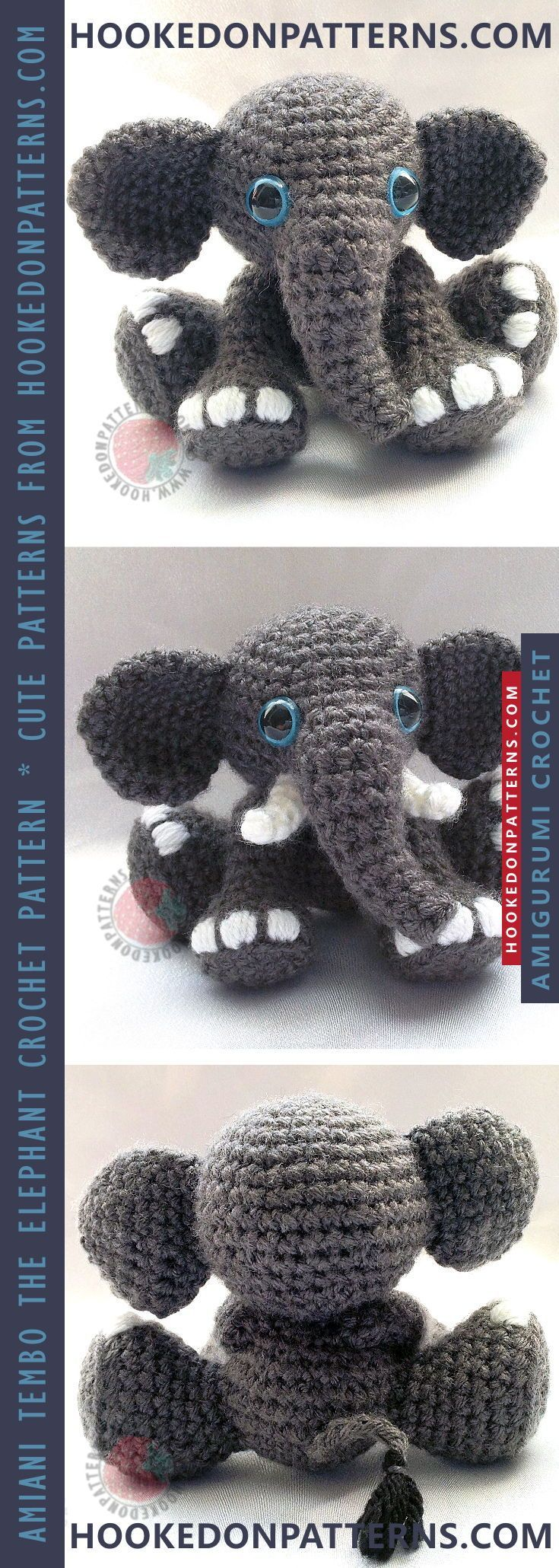 Piper The Elephant Amigurumi Pattern We are want to say thanks if ... | 2060x735