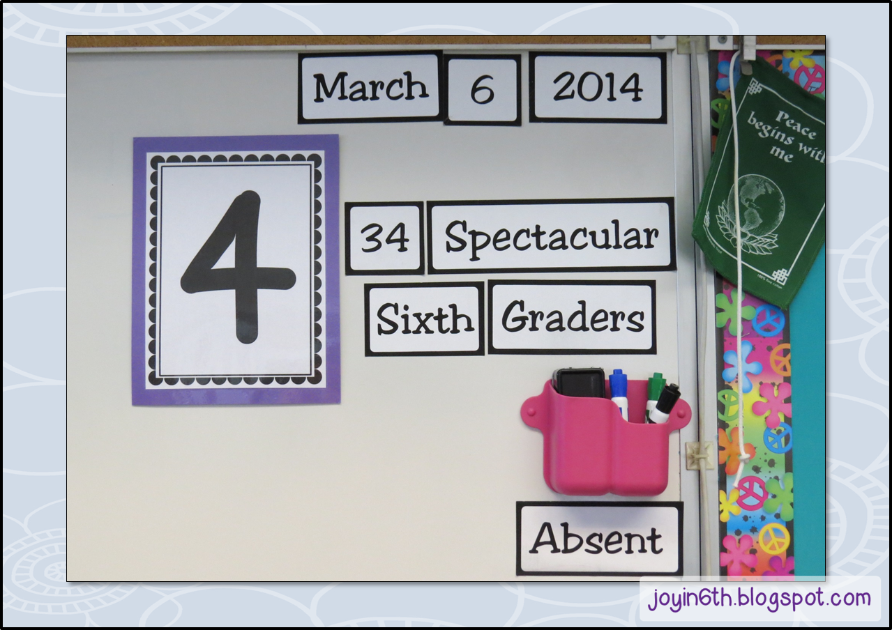 Using Table Numbers For Classroom Management From Finding