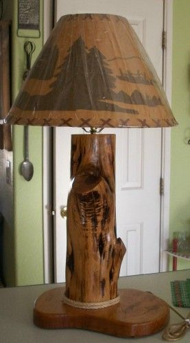 Wood Floor Lamp Diy