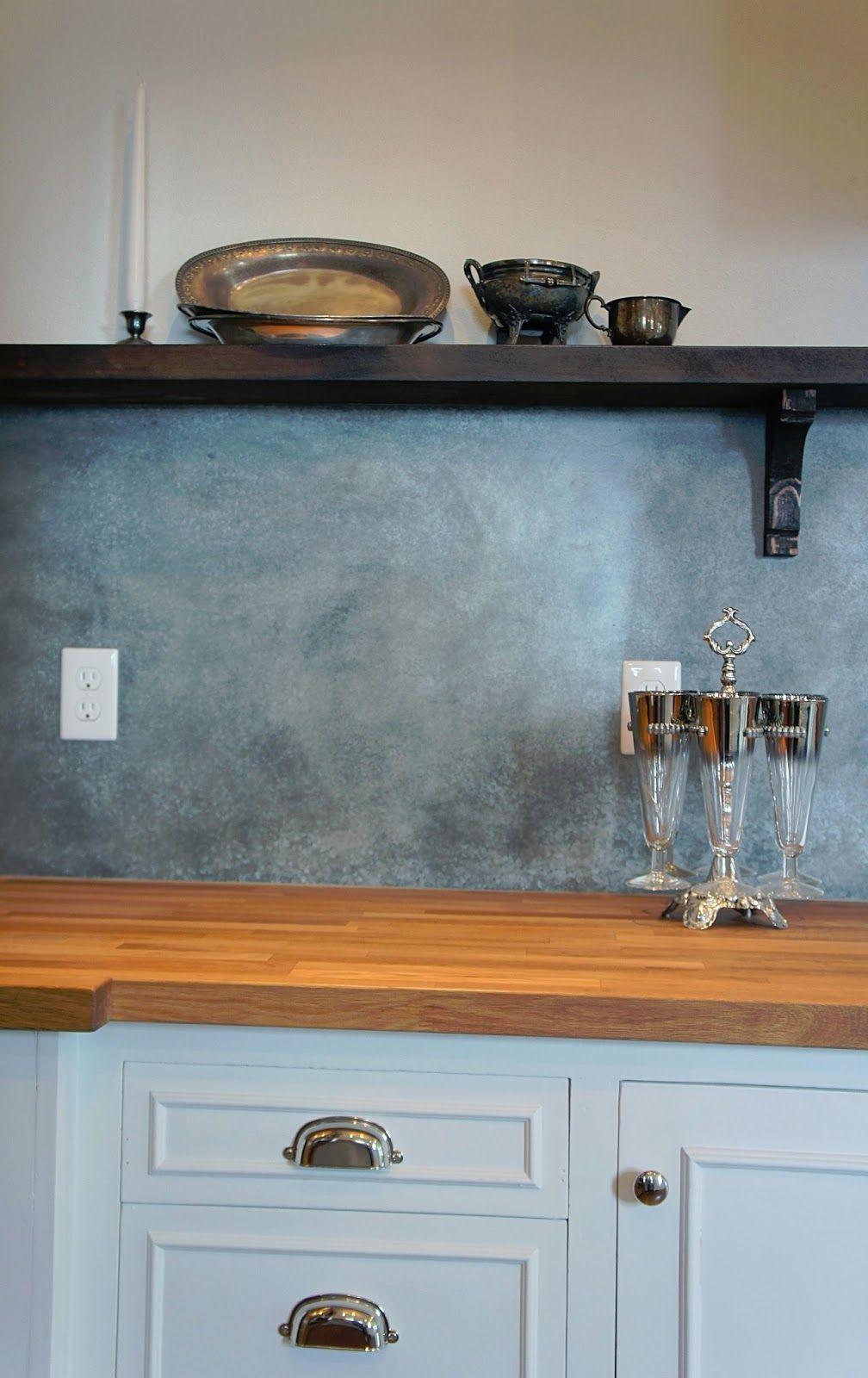Image result for arts and crafts zinc backsplash   back splash ...