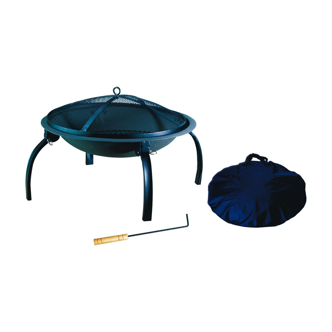Living Accents Portable Fire Pit - Outdoor Fireplaces ... on Ace Hardware Fire Pit id=19297