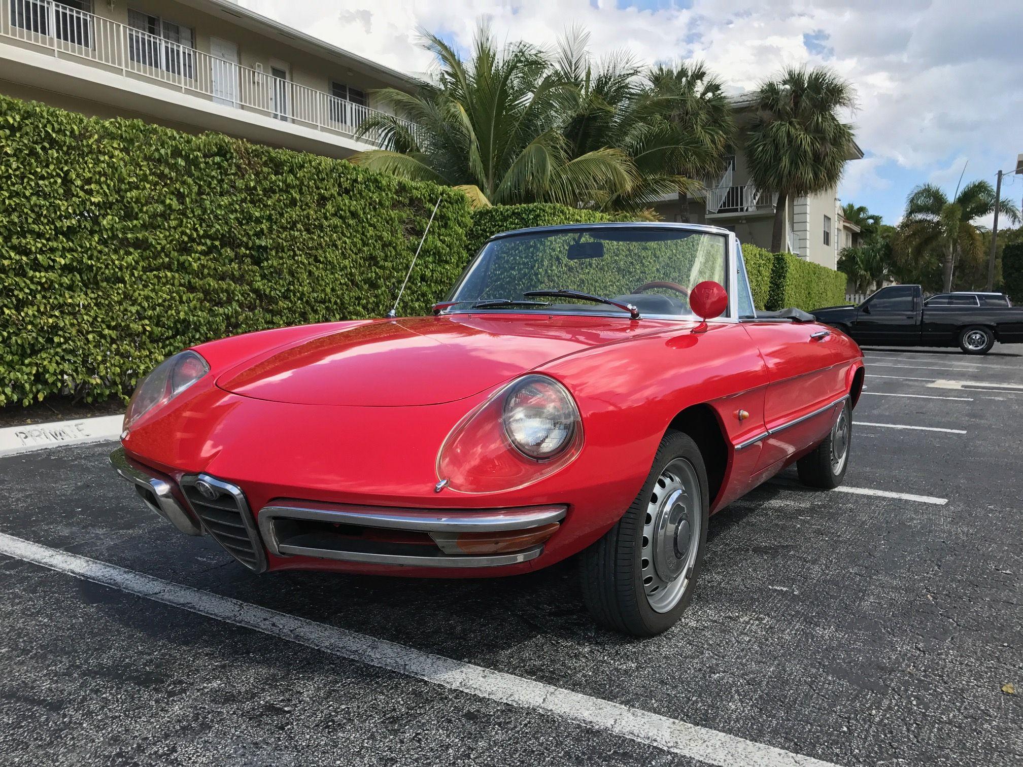 Original-Owner 1967 Alfa Romeo Spider 1600 Duetto http ...