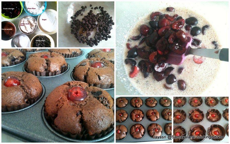 Life - is just a bowl of cherries - ?proverbHi everybody hope you are all doing well, Had a very busy weekend, posting anything was out of question, Had a lovely time with my visiting family.Coming back to this recipe, I have made this recipe many a times, My kids love it too..., Adding fresh…