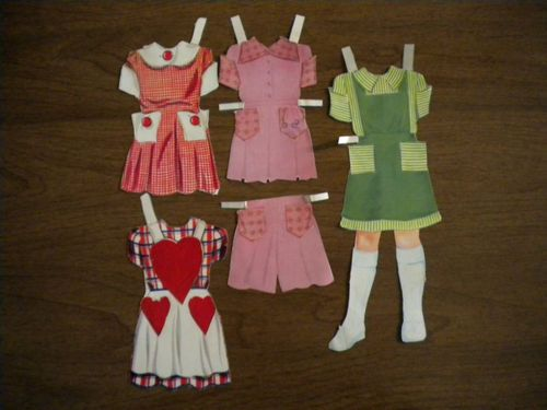 Large Lot of Vintage 1940's-50's Paper Dolls - Bunny, Gail, etc. Slumber Party | eBay