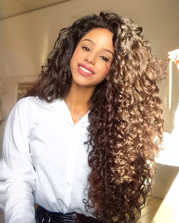 18 Long Curly Weave Hairstyles Hair Styles Long Hair Styles Curly Weave Hairstyles