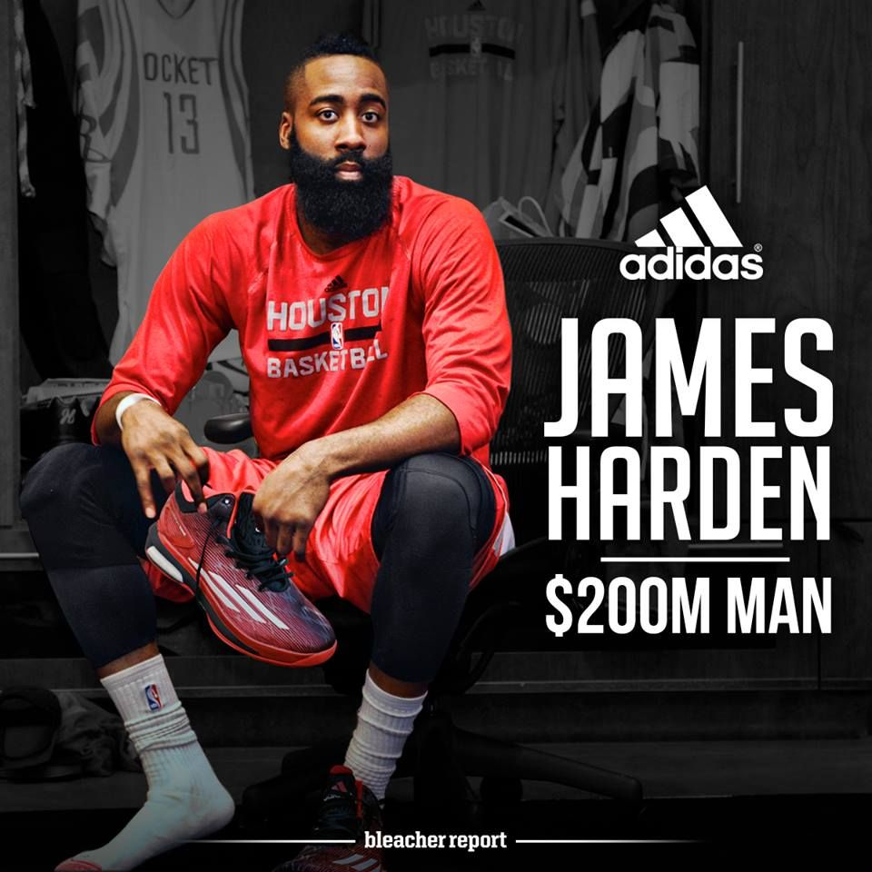 James Harden Signs With Adidas And Memes Go Wild - Doublie