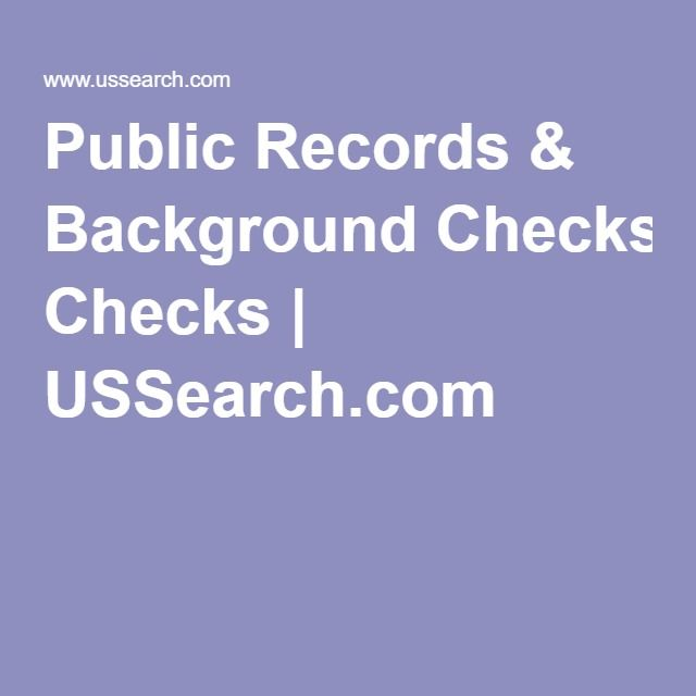 Why order Criminal Background Checks?