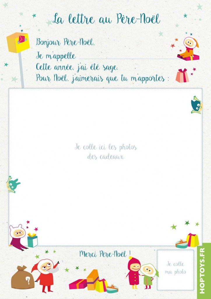 modele de lettre pour le pere noel a imprimer Téléchargez la lettre au Père Noël | Pinterest | Le père noël  modele de lettre pour le pere noel a imprimer