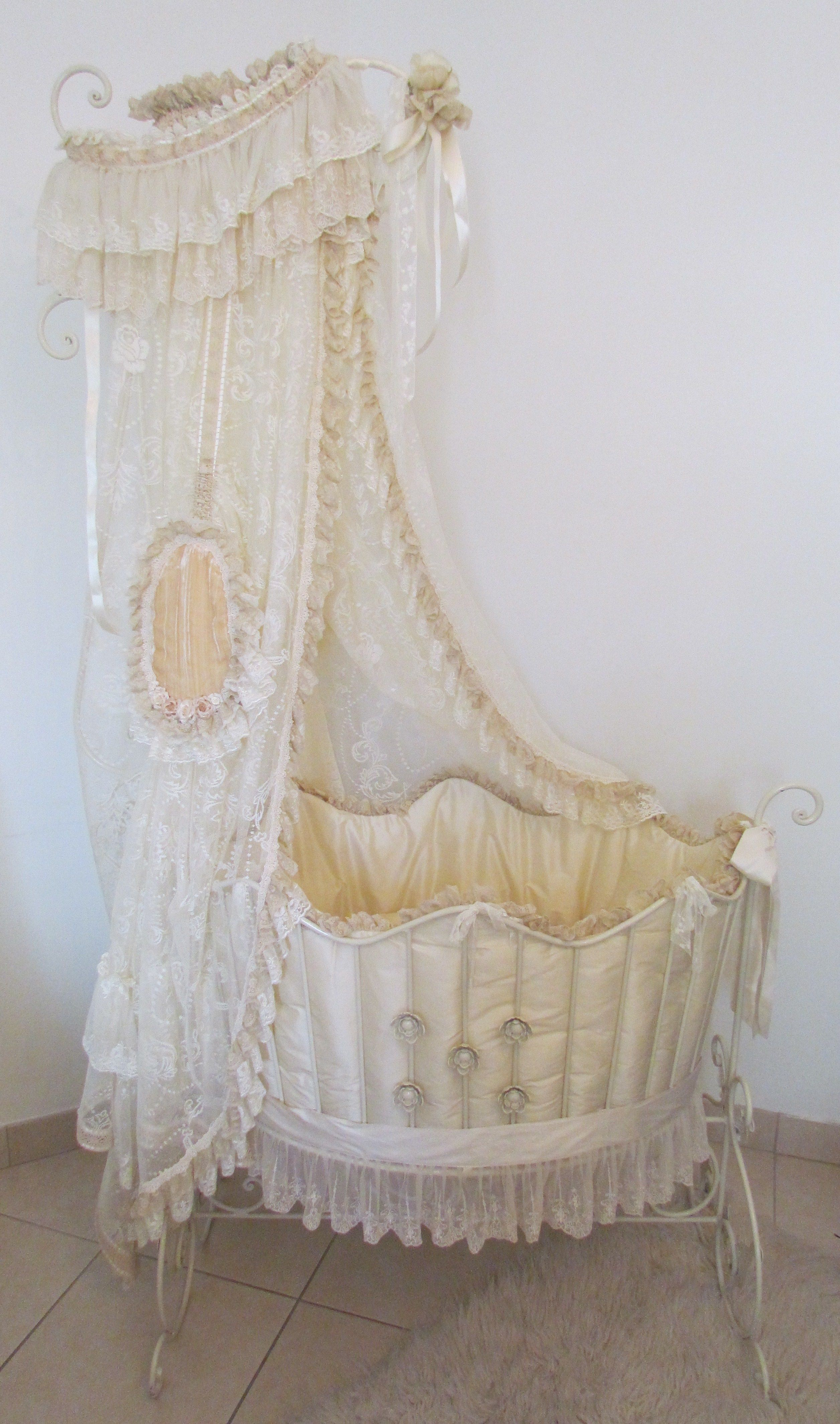 This Is My Favorite Baby Bed Victorian Baby Bedding