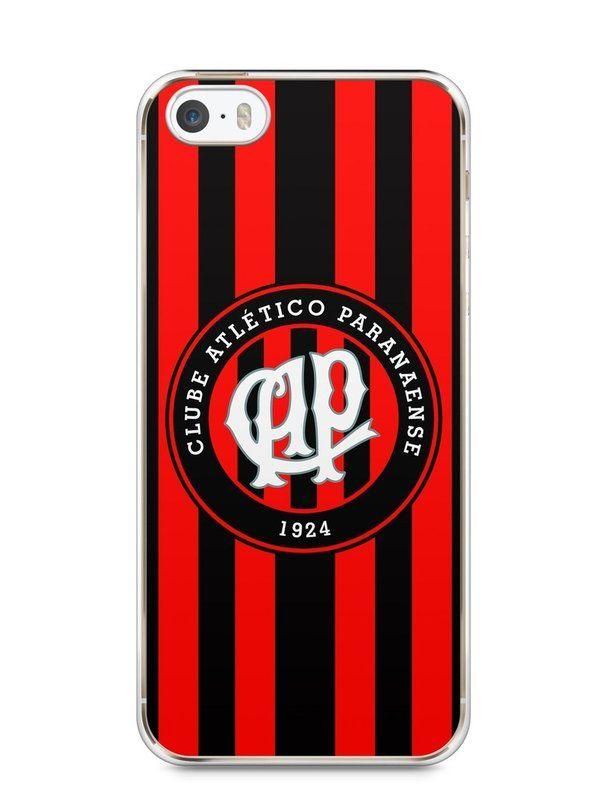 Capa Iphone 5/S Time Atlético Paranaense - SmartCases - Acessórios para celulares e tablets :)