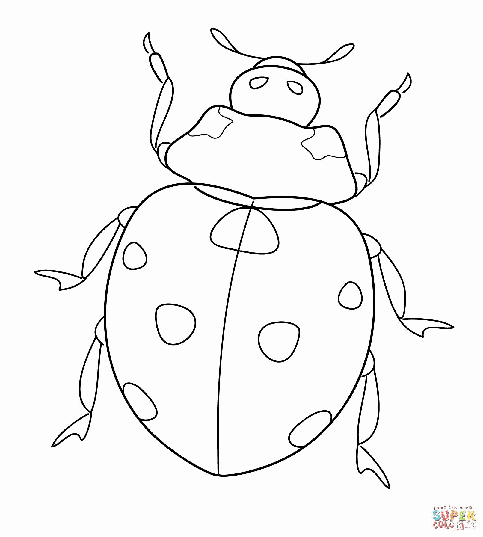 28 Lady Bug Coloring Page in 2020