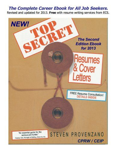 top secret resumes  u0026 cover letters  the complete