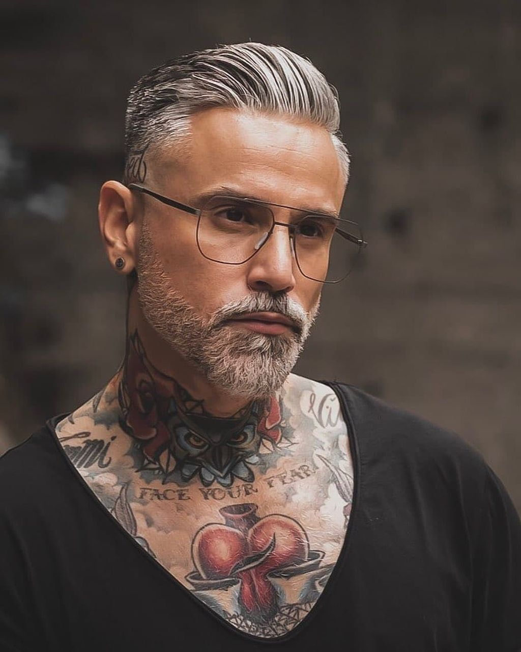 40+ Awesome Gray Haired And Beard Men Ideas To Try Asap in