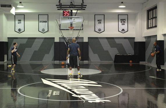 Nike Basketball Masaryk Towers Nyc Sneakernews Com Indoor Basketball Court Outdoor Basketball Court Basketball Room