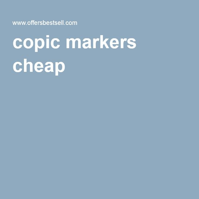 copic markers cheap