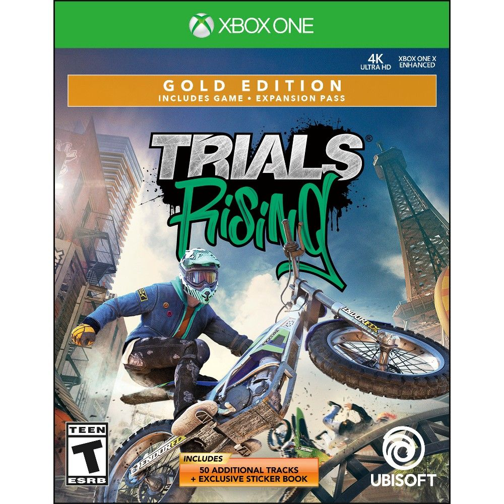 Trials Rising Gold Edition Xbox One Xbox One Ubisoft Video Game Genre