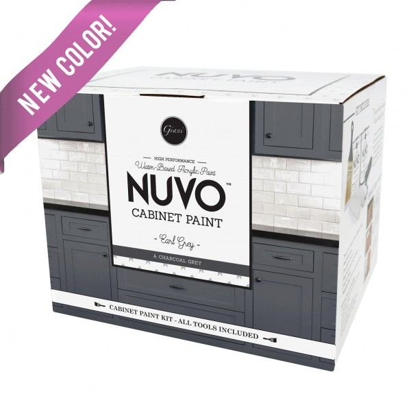 Best Nuvo Earl Grey Cabinet Paint Kit Nuvo Cabinet Paint 400 x 300