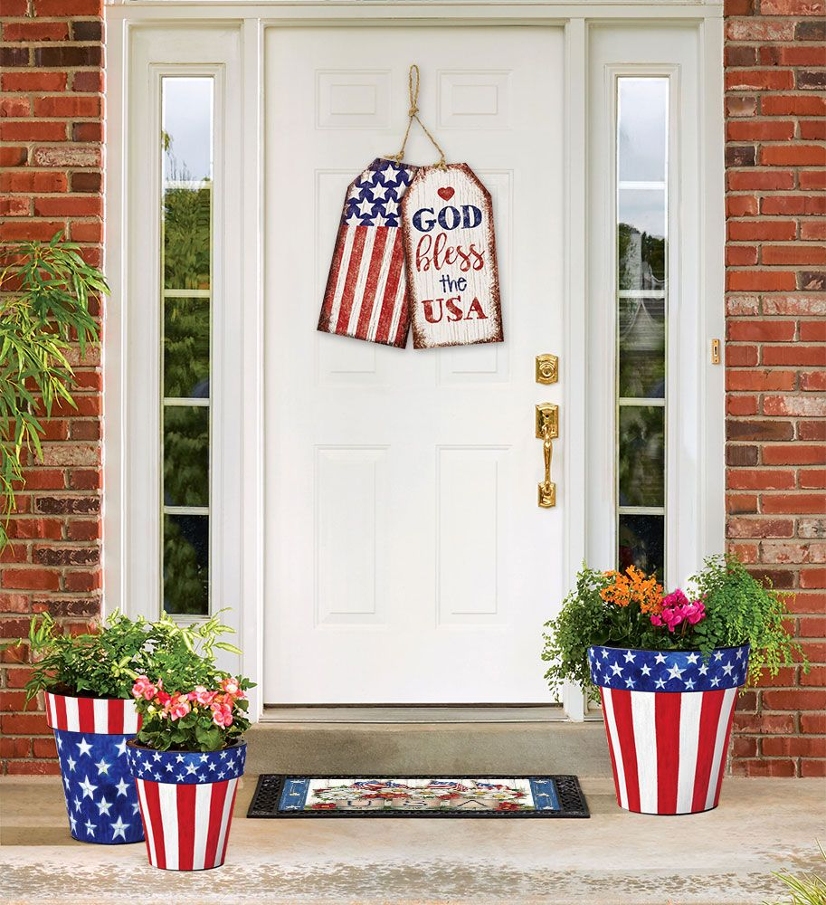 Patriotic Home Decor 4th Of July Decorations Fourth Of July Decor July Crafts
