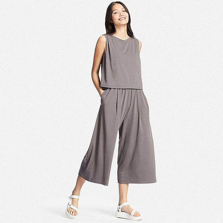 14f1ba8657cc WOMEN Jersey Sleeveless Jumpsuit