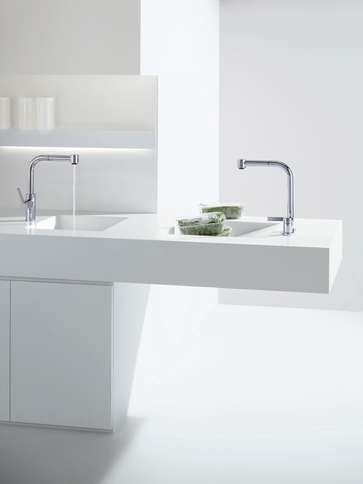 Dornbrachtu0027s Kitchen Faucets For Stylish White Kitchen / Elio Collection